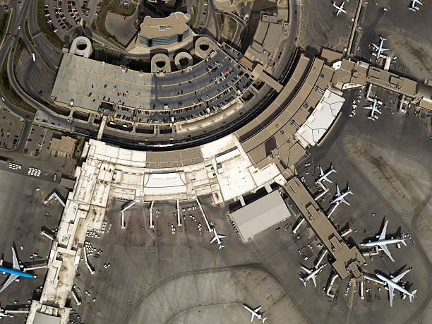 Photo aérienne de l'aéroport - Photo
