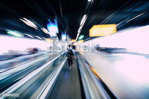 istock Airport and transportation concept of stressful situation, purpo 910840222
