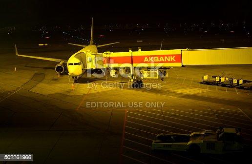 istock Airport Apron 502261966