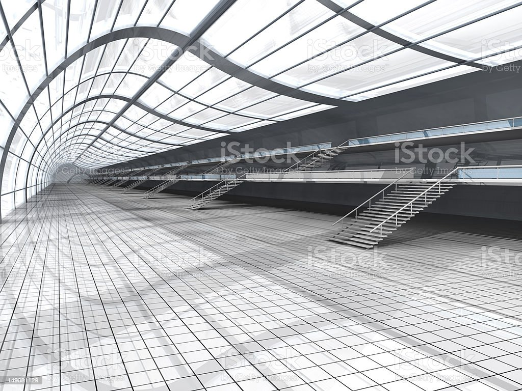 Airport Architecture royalty-free stock photo