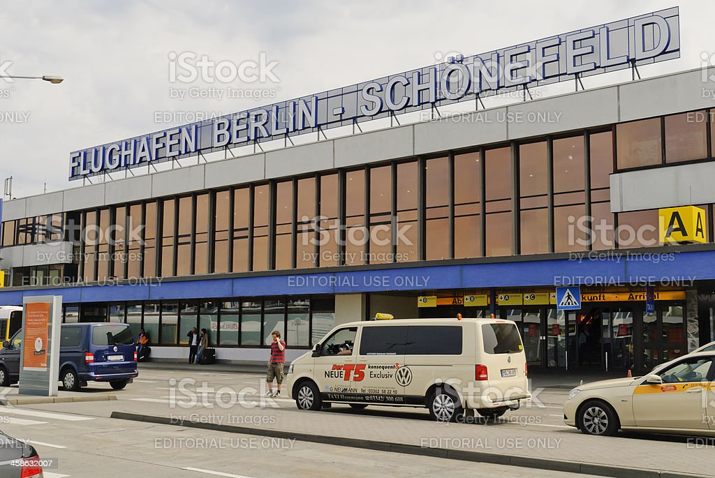 Airport Berlin - Schoenefeld stock photo