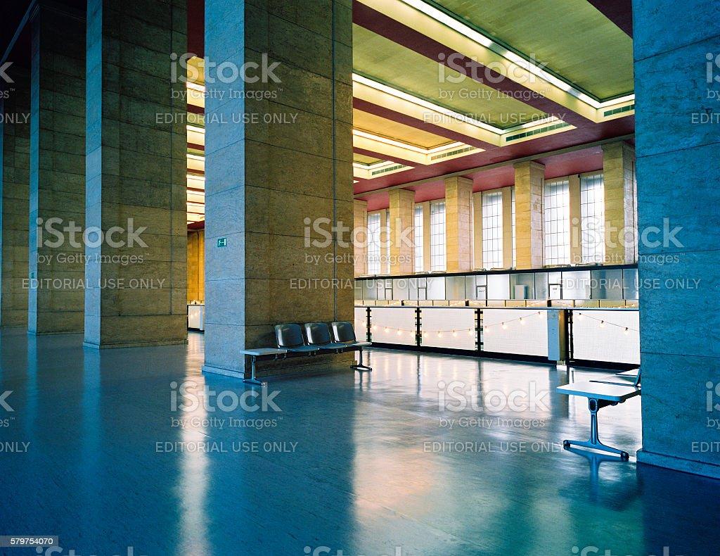 Airport Berlin Tempelhof, Germany stock photo