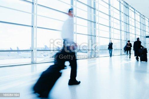istock Airport Business Travel 165084164