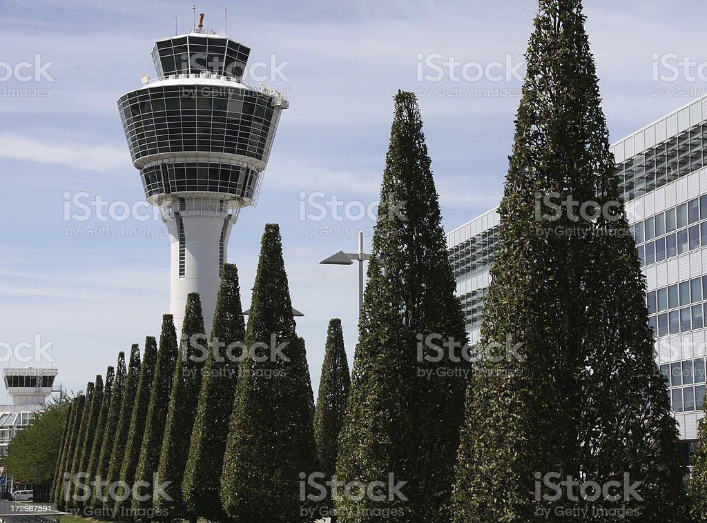 Aeropuerto, Torre de Control - foto de stock