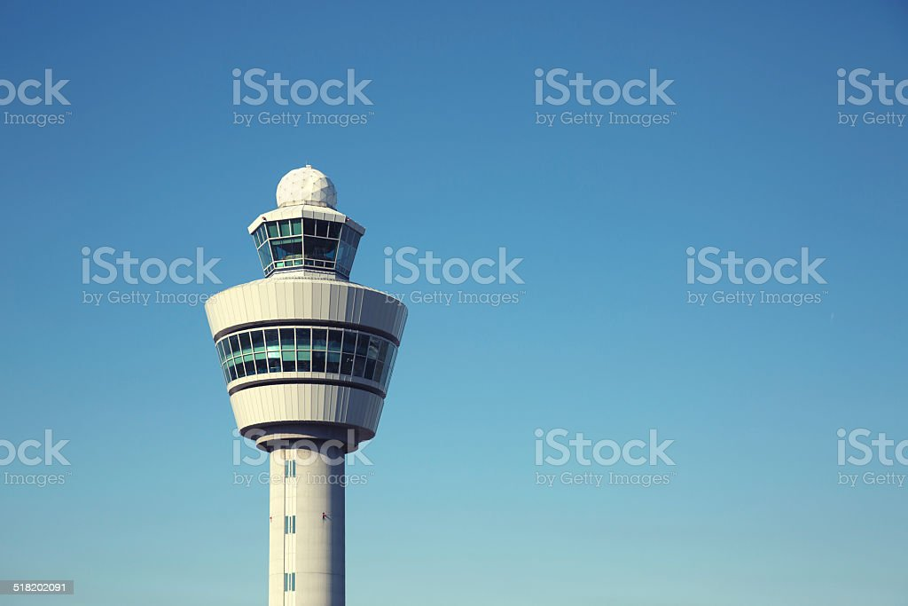 Airport Control Tower - Royalty-free Amsterdam Stockfoto