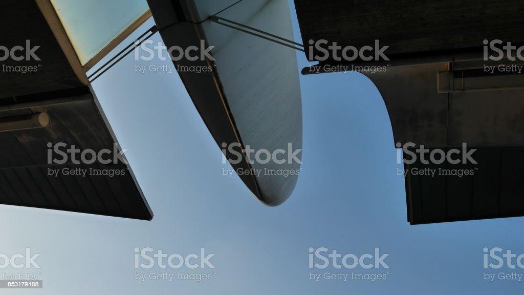 architecture de détail aéroport - Photo