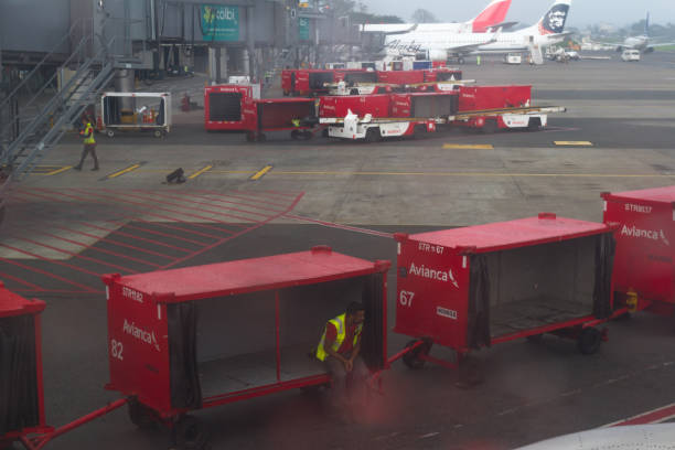 detalhes do Aeroporto - foto de acervo