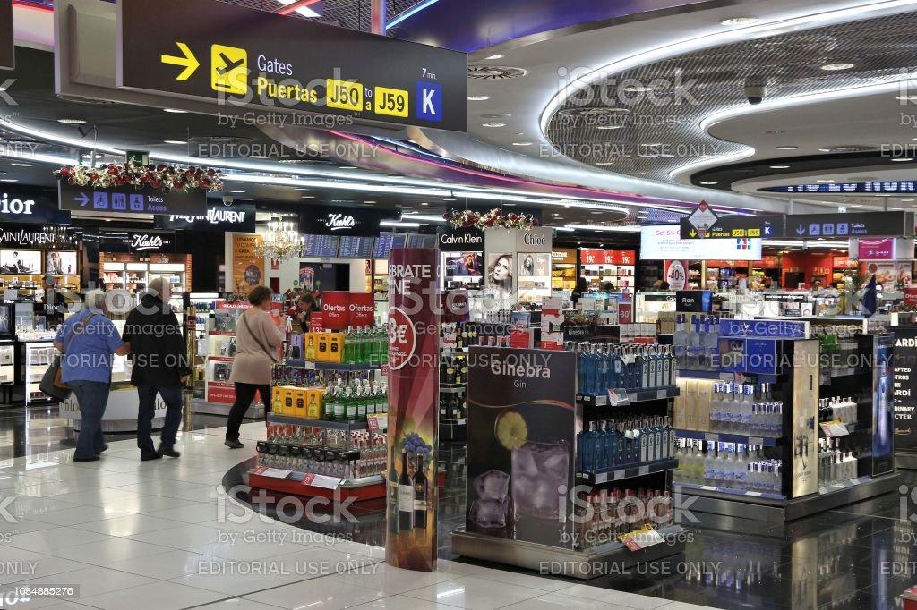 Hors taxes aéroport - Photo