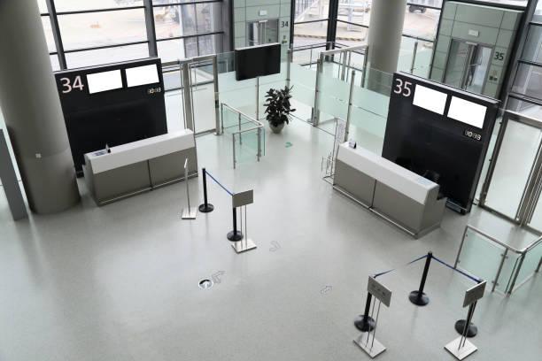 Porte de l'aéroport - Photo