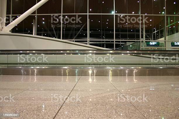 Airport hall views