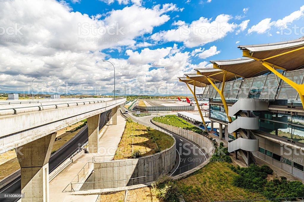 Aéroport de Madrid - Photo