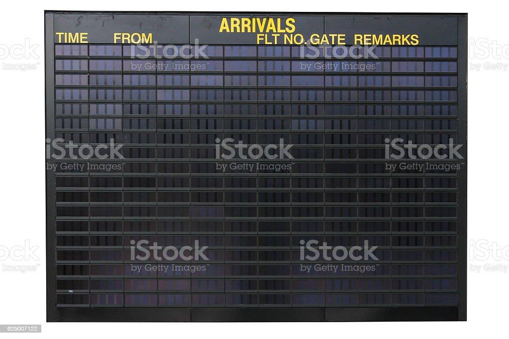 Flughafen-Informationen – Foto