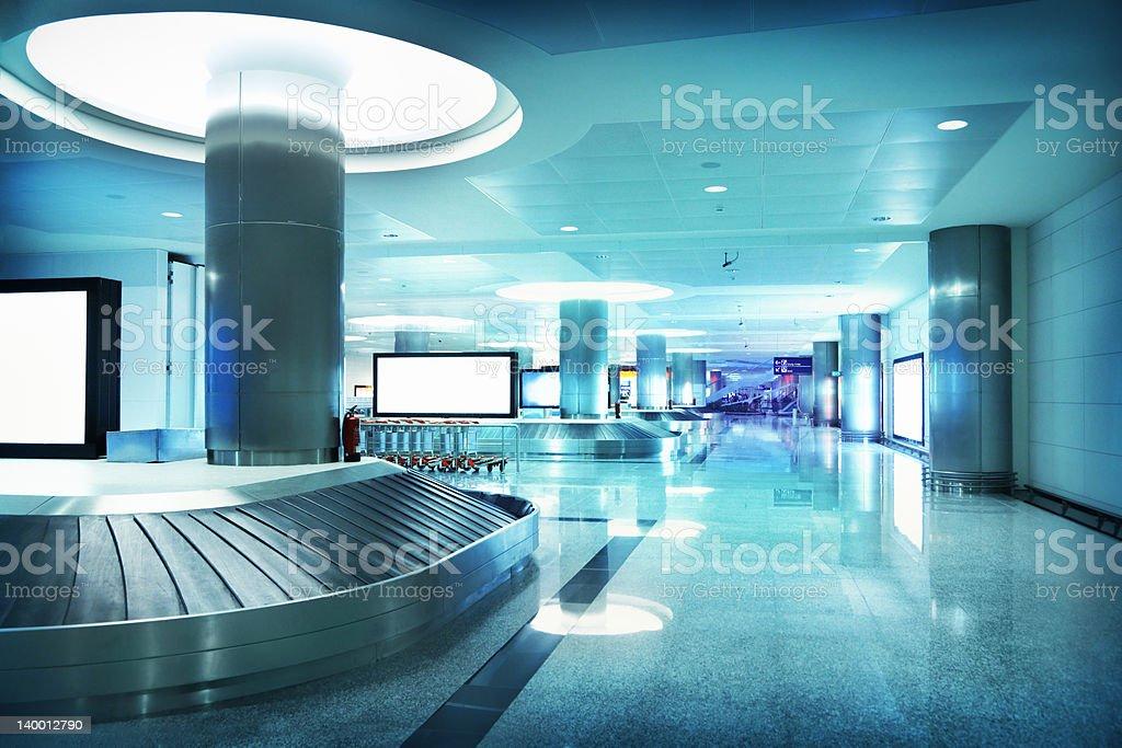 Airport interior royalty-free stock photo