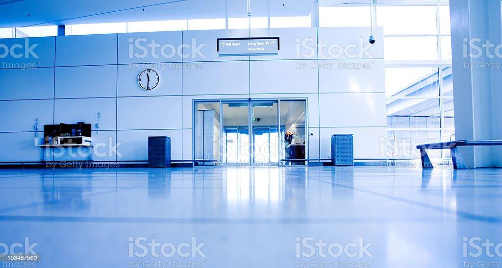 Aeroporto de interiores - foto de acervo