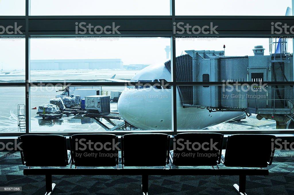 Flughafen innen Lizenzfreies stock-foto