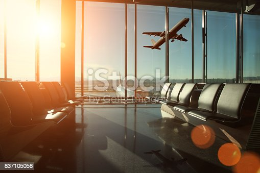 Airport interior travel