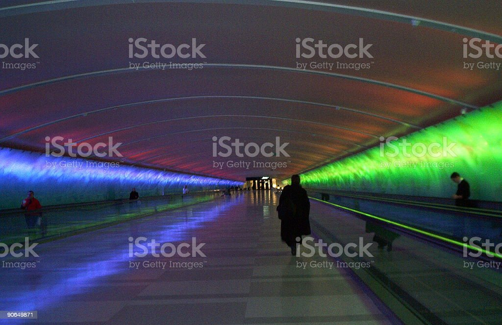 Airport Lighting royalty-free stock photo