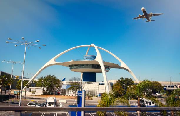 Aeroporto LAX, Los Angeles - foto de acervo