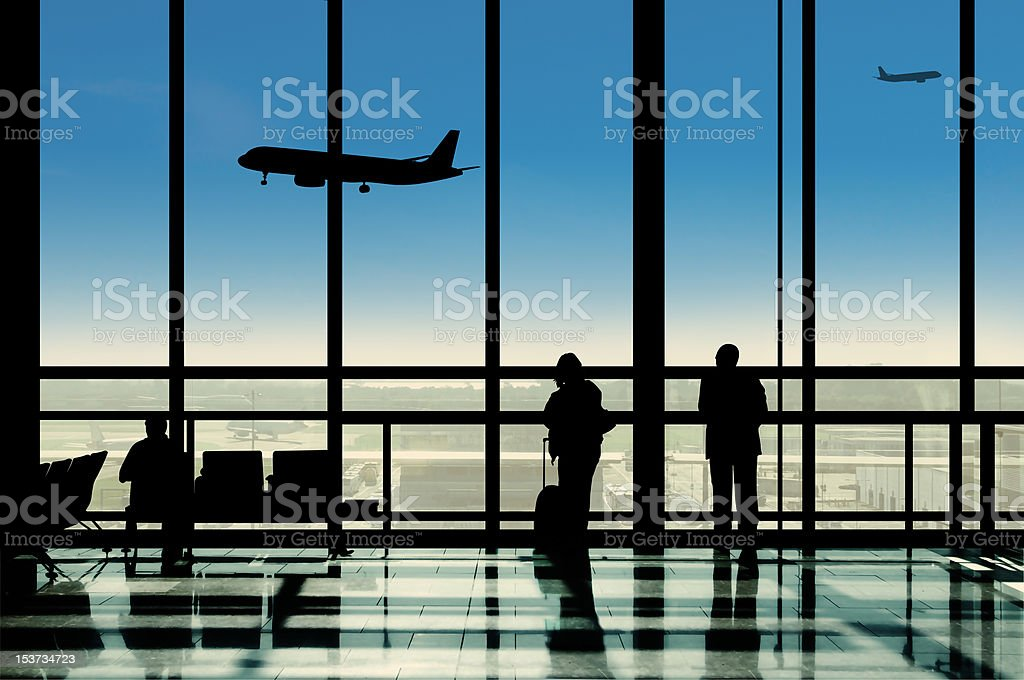 Airport lounge Jet Set royalty-free stock photo