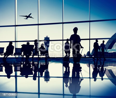 istock Airport Lounge 187100853