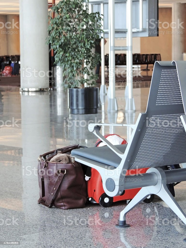 Airport lounge royalty-free stock photo