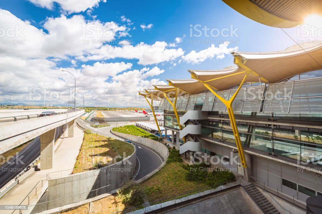 Aéroport Madrid - Photo