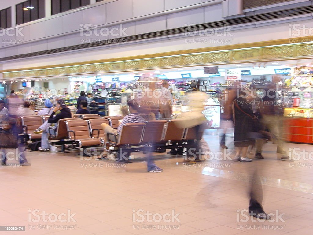 Airport - Movement royalty-free stock photo