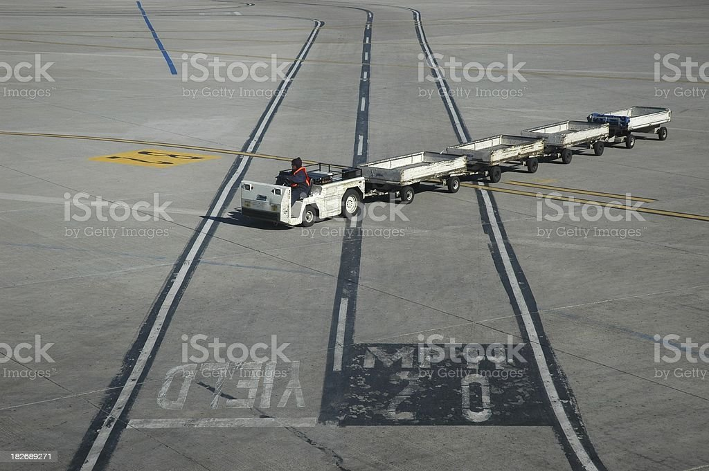 Airport Operations royalty-free stock photo