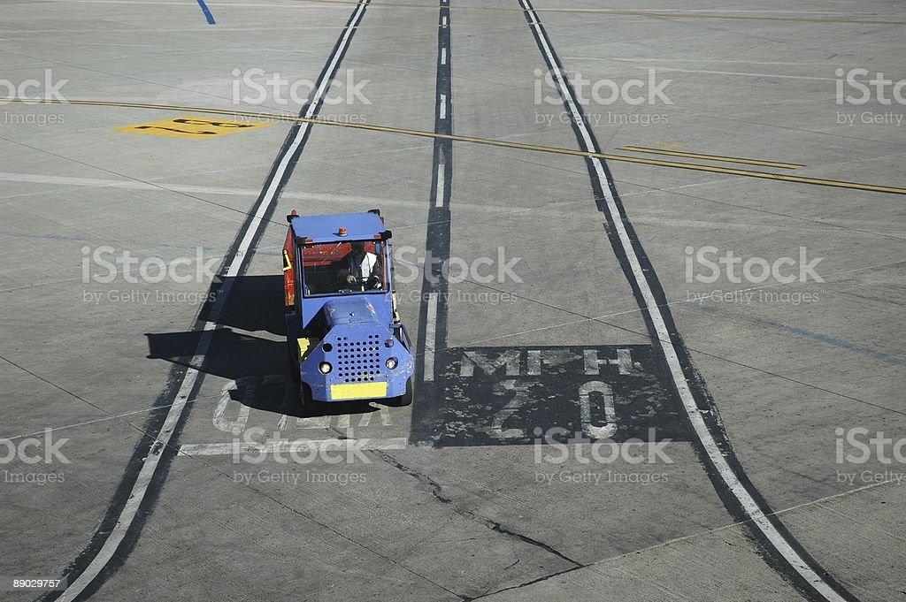 Airport Operations 免版稅 stock photo