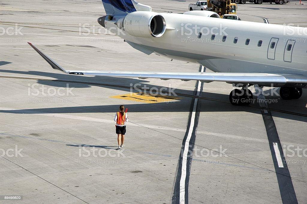 Airport Operations royaltyfri bildbanksbilder