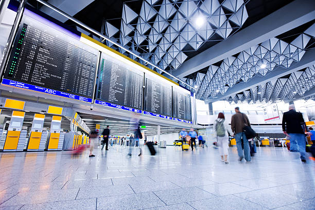 airport - airport check in counter stock pictures, royalty-free photos & images