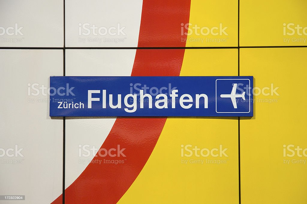 Flughafen Bahnhof Zuerich FlughafenClick here for more photos from Airport Stock Photo