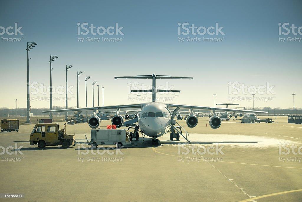 El aeropuerto - foto de stock