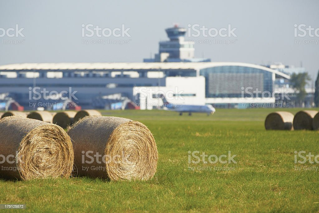Airport royalty-free stock photo