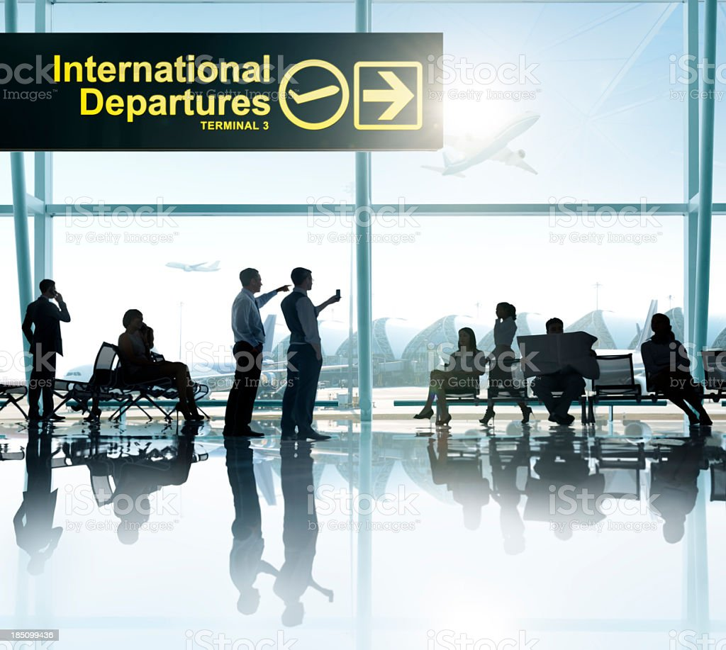 Airport. royalty-free stock photo