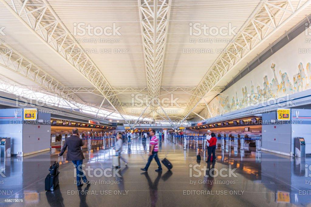 Aeropuerto JFK - foto de stock