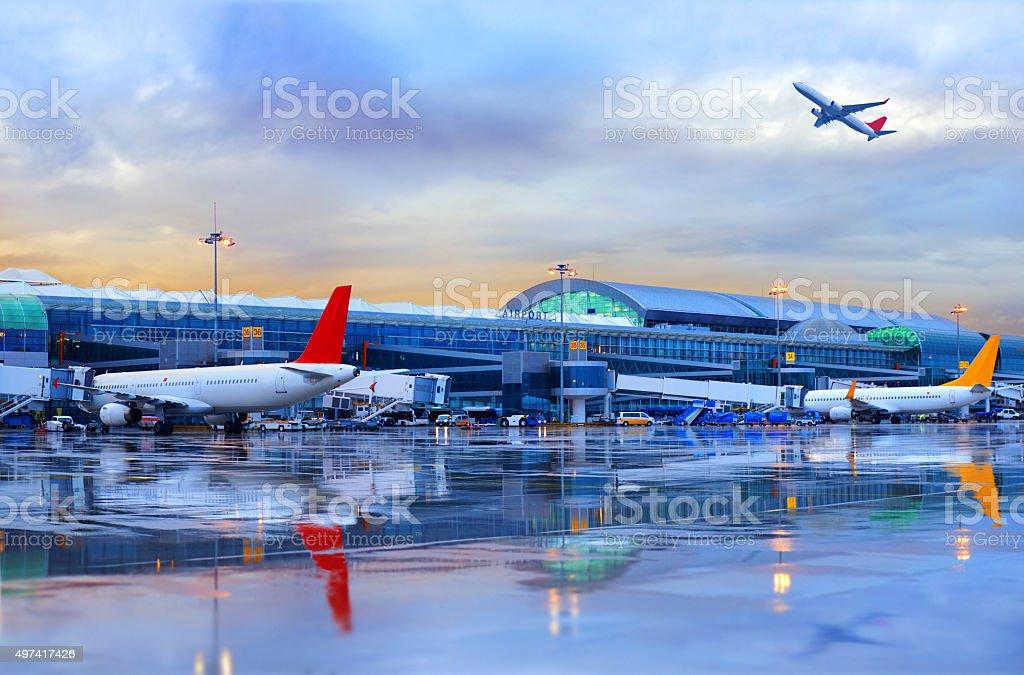 Airport in İzmir, Turkey