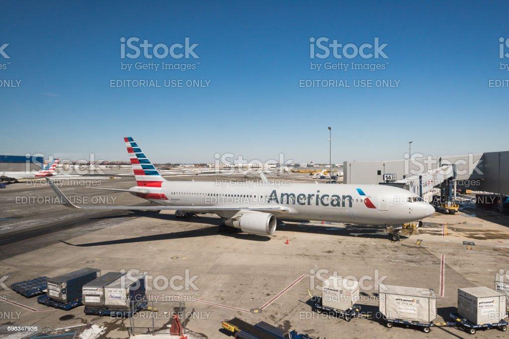 Aeroporto JFK - foto de acervo
