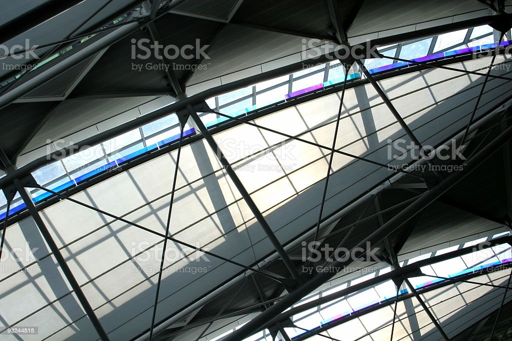 SF airport royalty-free stock photo