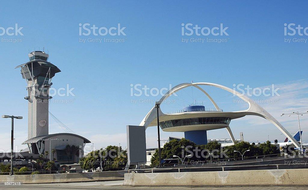 LAX Airport stock photo
