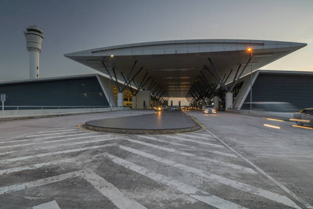 Airport Kuala Lumpur International Airport is one of Malaysia Airport with heavy air traffic system kuala lumpur airport stock pictures, royalty-free photos & images