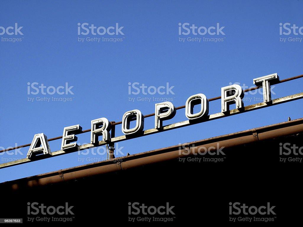 Aeroporto di foto stock royalty-free