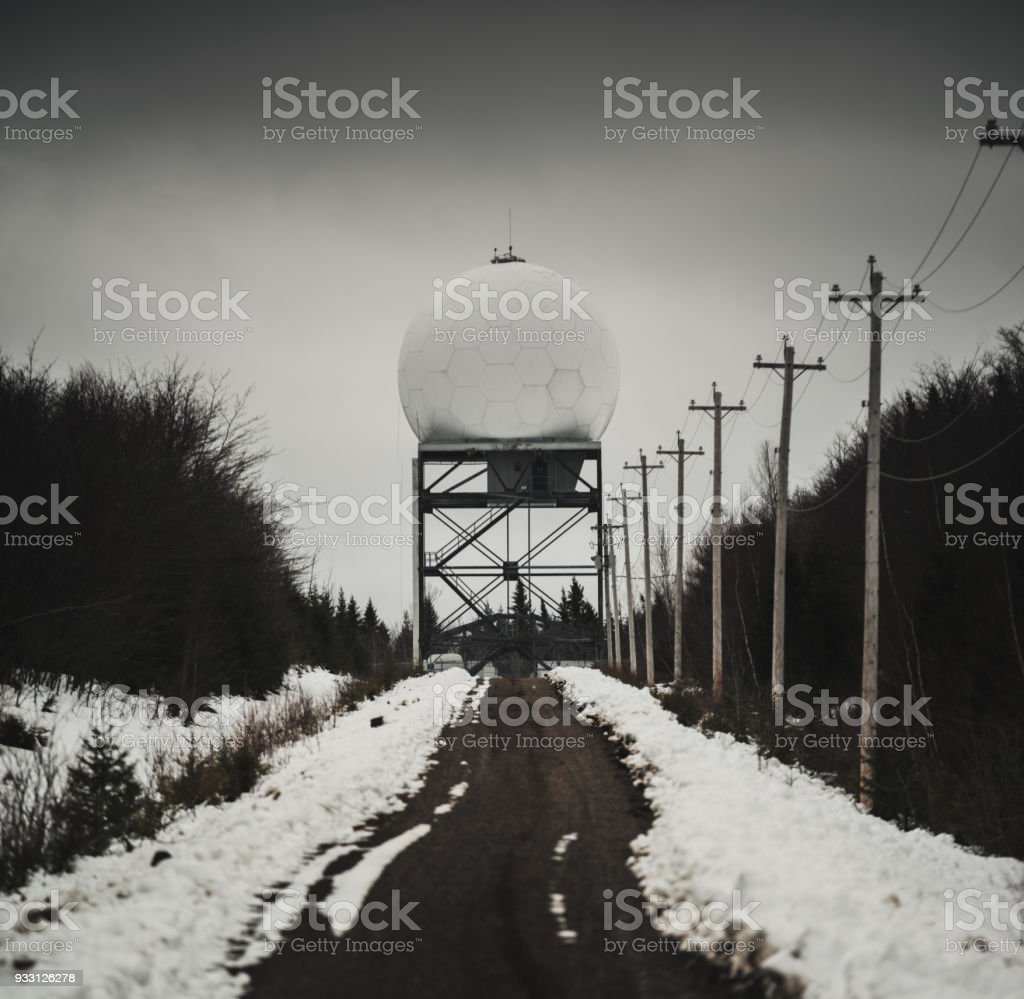 Airport Radar stock photo