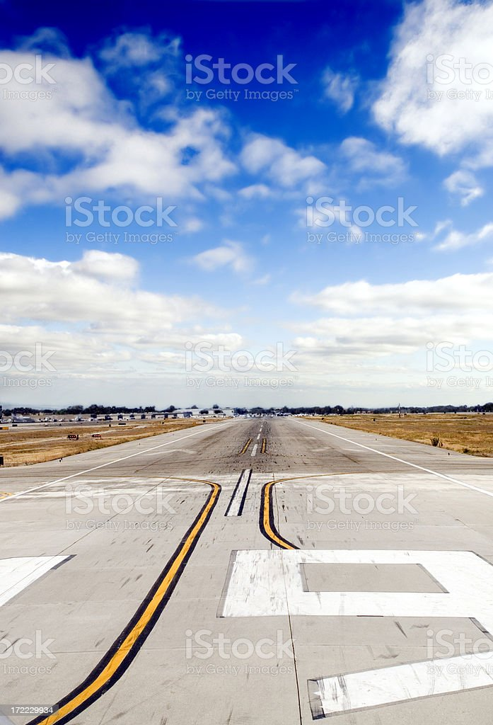 Airport Runway royalty-free stock photo