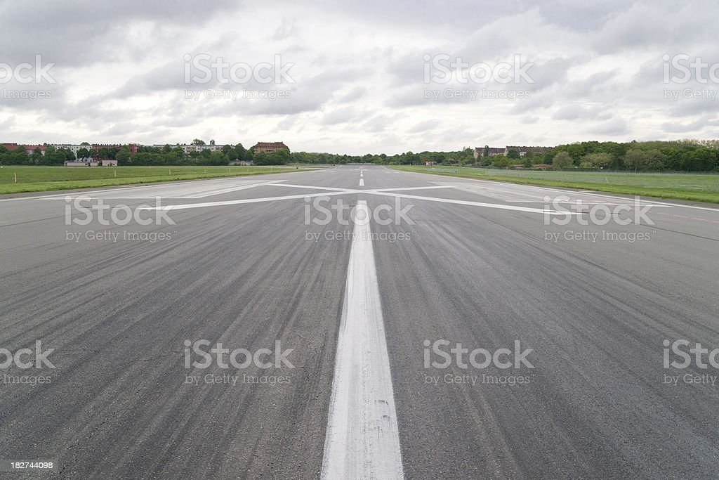 Airport runway – Foto