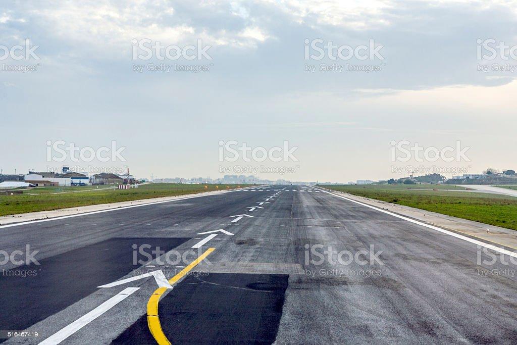 Pista do aeroporto - foto de acervo