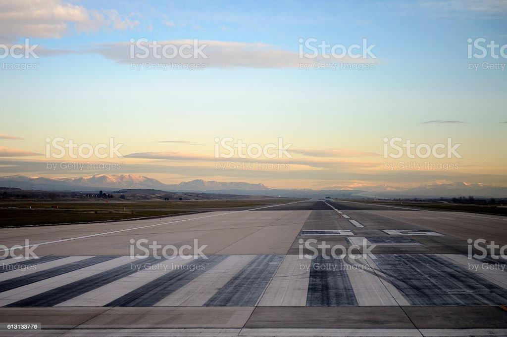 Piste de l'aéroport - Photo