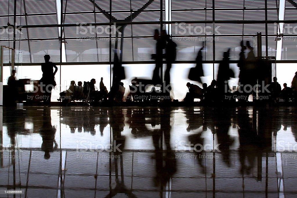 Ruée vers l'aéroport - Photo