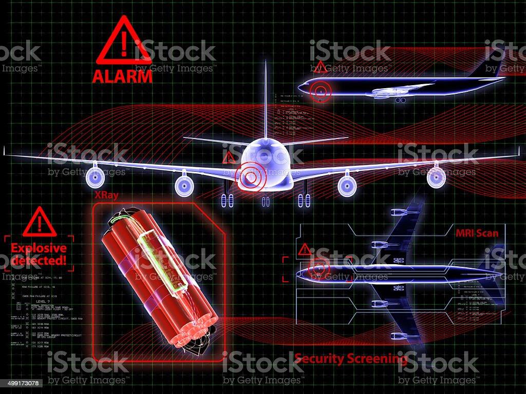 Sicherheits-System und Explosive Wecker – Foto