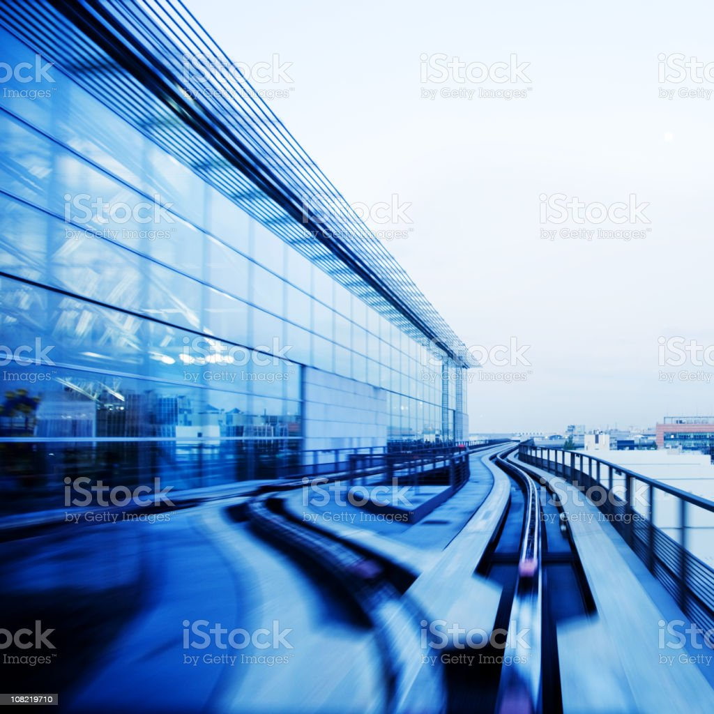 Airport Shuttle Connect royalty-free stock photo